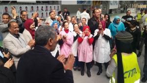 Rissala News couvre la visite des enfants en situation d'handicap à l'usine des tramways